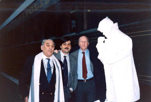 4 - Indianapolis, 1987, Mondiali indoor, Vanni Lòriga e Giorgio Cimbrico